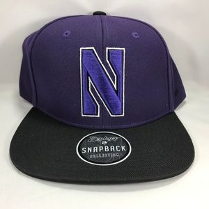 Northwestern Wildcats Snapback Purple Baseball Cap